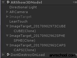 可以读取实例化,但识别图片时不显示模型。